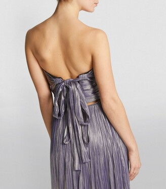 Maria Lucia Hohan Metallic Theia Gown