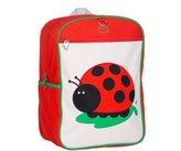 Beatrix New York Big Kid Backpack: Juju (Ladybug), Red, One
