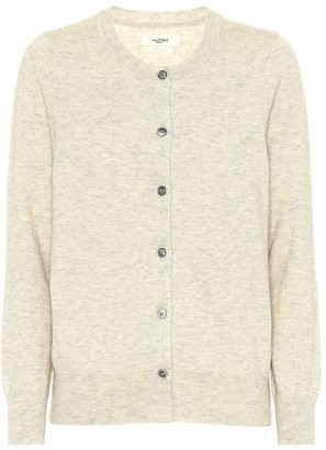 Etoile Isabel Marant Kado cotton and wool cardigan