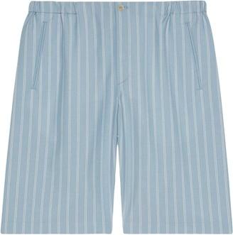 Gucci Pinstripe Tailored Shorts