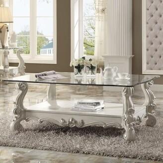 Astoria Grand Welton Traditional Coffee Table Astoria Grand Color: Bone White