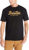 Brixton Men's Struck Short Sleeve T-Shirt