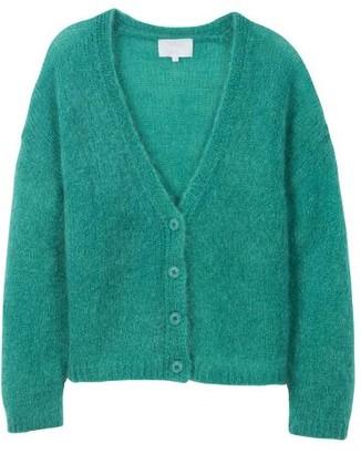Les Tricots de Lea - Mohair Luxury Cardigan Gasmina Emerald Green - XS/S