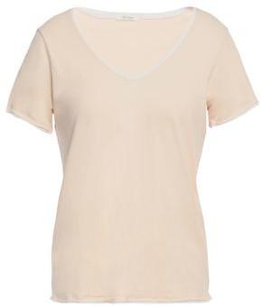 Skin Cotton-jersey Pajama Top
