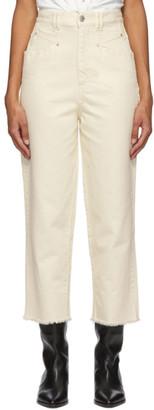 Isabel Marant Off-White Naliska Jeans