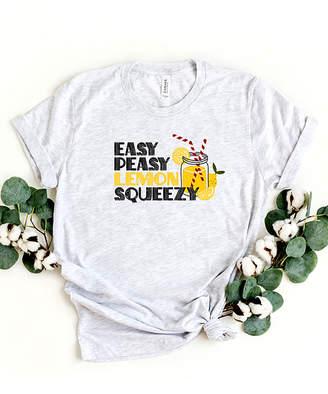 Ash Simply Sage Market Women's Tee Shirts  & White 'Easy Peasy Lemon Squeezy' Crewneck Tee - Women