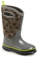 Bogs Classic Creepy Crawler Waterproof Snow Boot (Toddler, Little Kid & Big Kid)