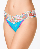 Hanky Panky Dylan's Candy Bar Candyspill-Print Original-Rise Lace Thong 5D1142