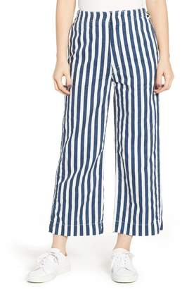 Mother The Cinch Greaser Stripe Pants