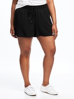 Old Navy Mid-Rise Plus-Size Soft Shorts