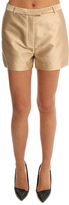 3.1 Phillip Lim Satin Flat Front Shorts