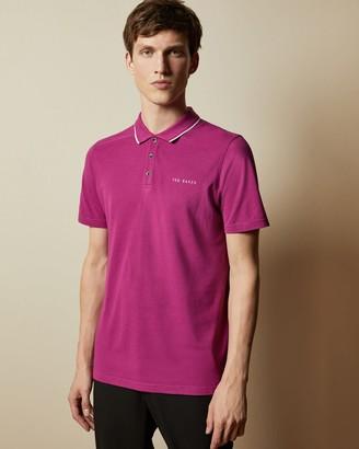 Ted Baker Pique Polo Shirt