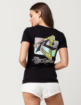 Rusty Before Crowds Triangle Womens Tee