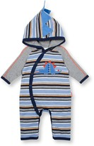 Le Top Dino Hooded Coverall (Baby Boys)