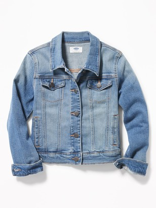 Old Navy Medium-Wash Jean Jacket for Girls