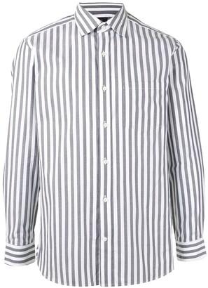 Kent & Curwen Striped Long Sleeve Shirt