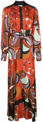 Alexis Parissa geometric print dress