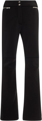 Fusalp Zip-Detailed Flared Crepe Pants