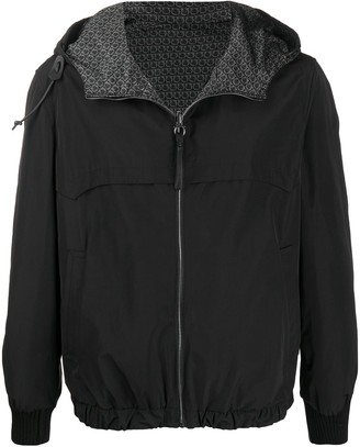 Salvatore Ferragamo Reversible Hooded Jacket