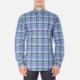 Polo Ralph Lauren Men's Long Sleeve Checked Poplin Shirt Liberty