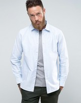 Edwin Cadet Blue Oxford Shirt
