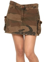 Superdry Cotton Cargo Skirt
