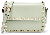 Valentino The Rockstud Mini Leather Shoulder Bag - Mint