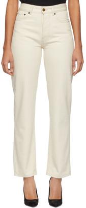 Victoria Victoria Beckham Off-White Arizona Jeans