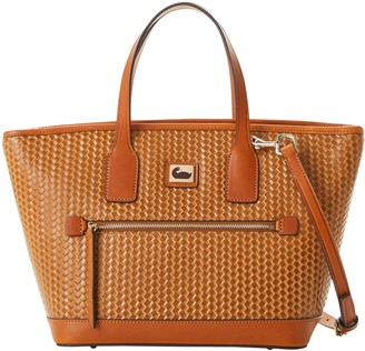 Dooney & Bourke Camden Woven Medium Convertible Tote