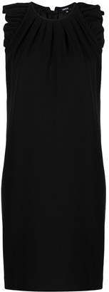 Aspesi Ruffle-Trimmed Shift Dress