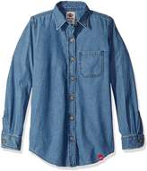 Dickies Big Girls' Long Sleeve Shirt