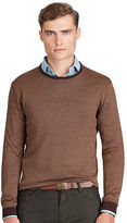 Polo Ralph Lauren Silk-Cotton Crewneck Sweater