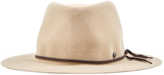 Maison Michel Ecru Wool Hats