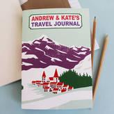 Sukie Personalised Alpine Travel Journal