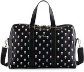 Robert Graham Skull-Print Overnight Bag, Black