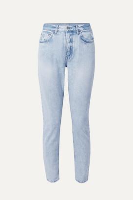 GRLFRND Karolina High-rise Skinny Jeans - Light denim