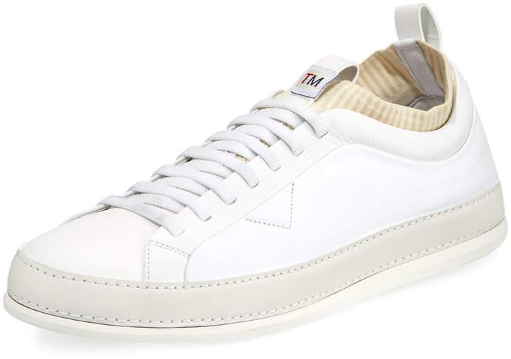 Ermenegildo Zegna Men's Imperia Low-Top Leather Sneakers