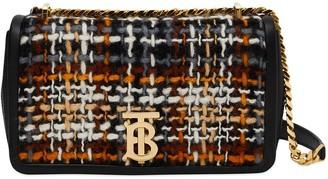 Burberry Lola tweed crossbody bag