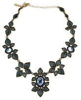 Oscar de la Renta Geometric Crystal Embellished Collar Necklace
