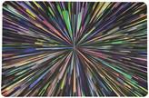N. Nicolette Mayer Fireworks Black Rectangle Pebble Placemats, Set of 4