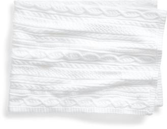 Ralph Lauren Aran-Knit Cotton Blanket