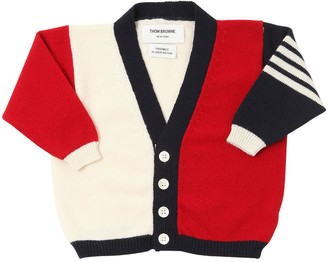 Thom Browne Knitted Cashmere Cardigan
