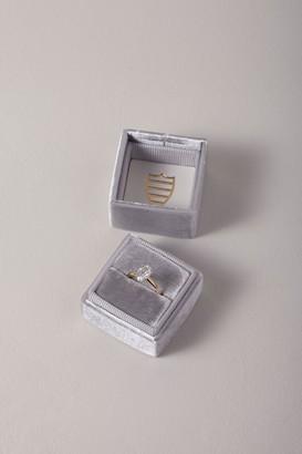 The Mrs. Box Mrs. Box Velvet Ring Box