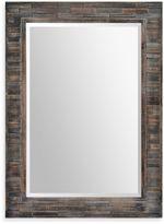 Ren Wil Ren-Wil 30-Inch x 42-Inch Liuhana Rectangular Mirror in Black/Brown