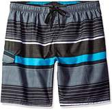 Kanu Surf Men's Big Viper Extended Size Stripe Swim Trunk