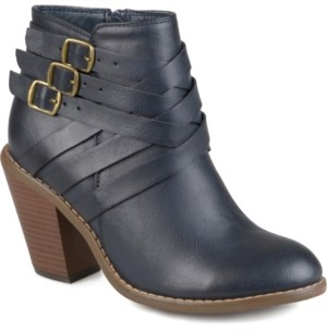 Journee Collection Women's Strap Boot Women's Shoes