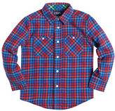 Chaps Checked Flannel Work Shirt