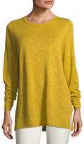 Eileen Fisher Easy Long-Sleeve Pullover Tunic, Petite
