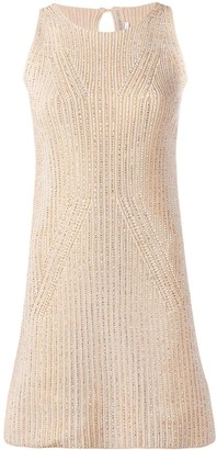Ermanno Scervino Knitted Mini Dress