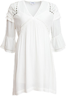 Suncoo Colly Dress White xsmall